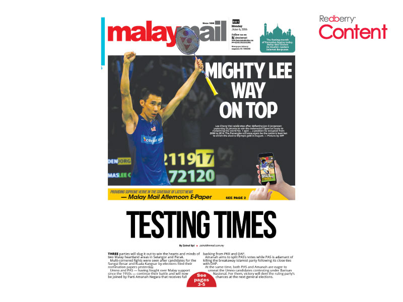 Malay Mail Redberry Media Group
